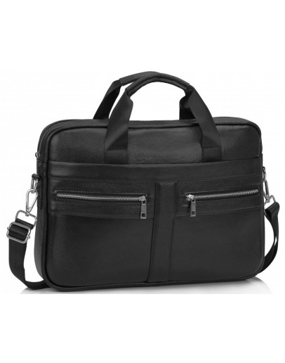 Фотография Кожаная мужская городская сумка Tiding A25-1120A