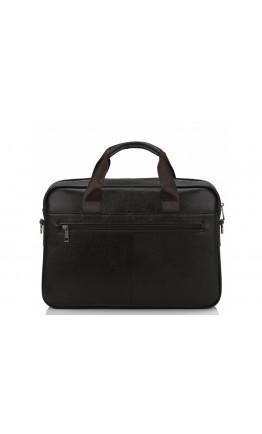 Кожаная мужская городская коричневая сумка Tiding A25-1120C