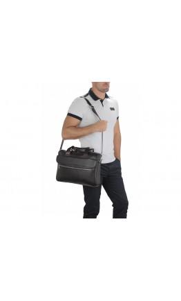 Коричневая городская кожаная сумка Tiding A25-1127C