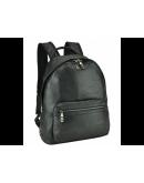 Фотография Черный кожаный рюкзак A25F-11683A