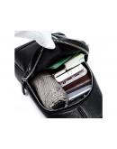 Фотография Черный мужской кожаный слинг Tiding Bag A25F-5427A