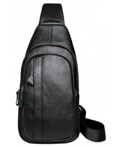Фотография Черный мужской слинг Tiding Bag A25F-6601A