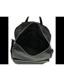 Фотография Кожаный рюкзак черный A25F-68009A