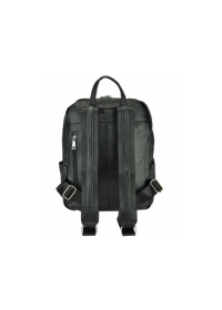 Кожаный рюкзак черный A25F-68009A