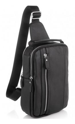 Мужской кожаный слинг Tiding Bag A25F-693A
