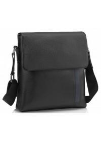 Черная мужская кожаная сумка на плечо A25F-9913A