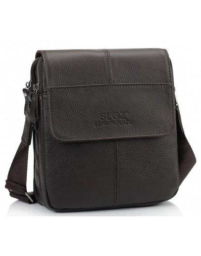 Фотография Коричневая сумка на плечо Tiding Bag A25F-B065B