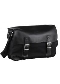 Мужская сумка на плечо из натуральной кожи и ткани Tarwa AG-6002-3md