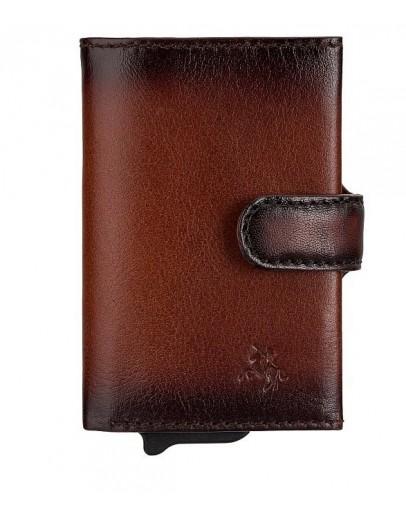 Фотография Мужской кожаный кошелек - картхолдер Visconti AT57 Noah c RFID (Burnish Tan)