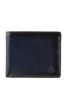 Темно-синий кошелек Visconti AT58 Milo c RFID (Burnish Blue)