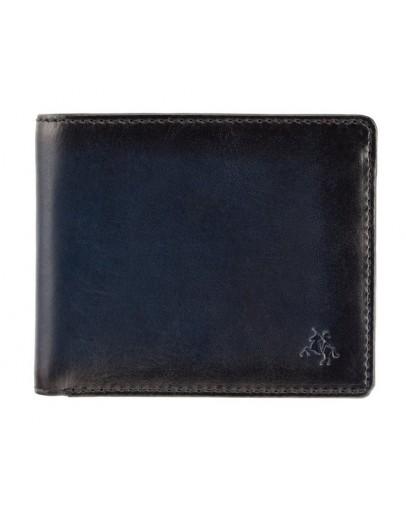 Фотография Темно-синий кошелек Visconti AT58 Milo c RFID (Burnish Blue)