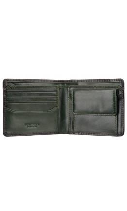 Кожаный зеленый кожаный кошелек AT60 Arthur c RFID (Burnish Green)