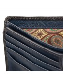 Фотография Темно-синий кошелек Visconti AT60 Arthur c RFID (Burnish Blue)