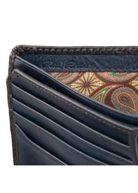 Темно-синий кошелек Visconti AT60 Arthur c RFID (Burnish Blue)