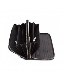 Клатч черный мужской кожаный Marco Coverna B-5902B/Q