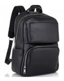 Фотография Черный мужской кожаный рюкзак B3-154A