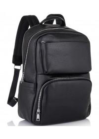 Черный мужской кожаный рюкзак B3-154A
