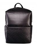 Фотография Черный кожаный мужской рюкзак Tiding Bag B3-157A