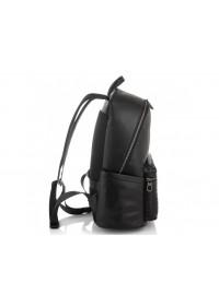 Черный мужской кожаный рюкзак Tiding Bag B3-8608A