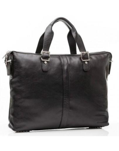 Фотография Деловая сумка из натуральной телячьяей кожи Blamont Bn 004 a