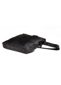 Черная мужская деловая мягкая сумка Blamont Bn004AI