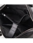 Фотография Черная мужская деловая мягкая сумка Blamont Bn004AI