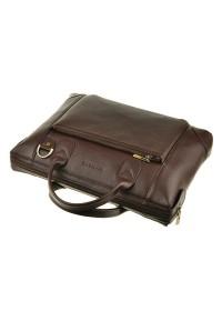 Мужская кожаная сумка цвета коньяк Blamont Bn006R