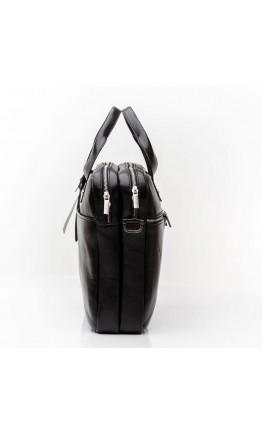 Сумка портфель мужской чёрный кожаный Blamont Bn012A