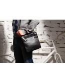 Фотография Модная кожаная сумка через плечо мужская Blamont bn019a