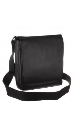 Чёрная мужская классическая сумка на плечо Blamont bn027a