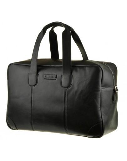 Фотография Черная вместительная мужская сумка Blamont bn028a