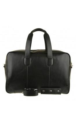 Черная вместительная мужская сумка Blamont bn028a