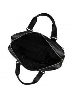 Добротный чёрный мужской портфель - сумка Blamont Bn066A