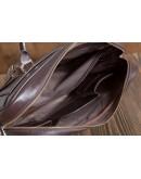 Фотография Коричневая мужская кожаная сумка - портфель Blamont Bn079c