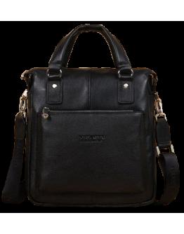 Удобная повседневная кожаная сумка для мужчин 7047