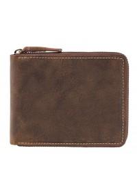 Кожаное портмоне песочного цвета Visconti 7021 - Bullet (oil tan)