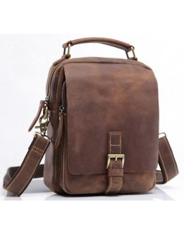Мужская сумка кожаная на плечо Bx035