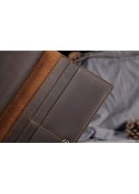 Кожаное мужское портмоне, плотная кожа bx0358