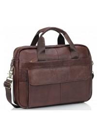 Коричневая сумка из натуральной телячьей кожи Bx1131C