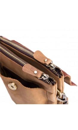 Небольшая рыже-коричневая сумка на плечо bx1456-l
