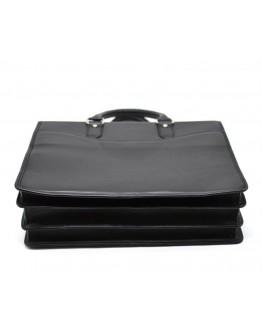 Деловая мужская кожаная сумка - портфель черного цвета Tarwa bx4364-4lx
