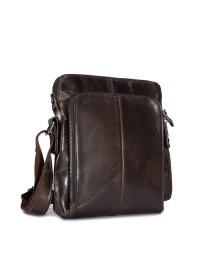 Мужская сумка кожаная на плечо bx8565J