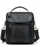 Фотография Черная сумка на каждый день из натуральной кожи Bx8870A