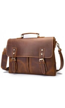 Мужской деловой портфель из плотной кожи bx9091