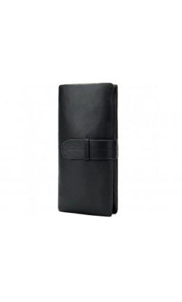 Клатч кожаный мужской черный Bx9202A
