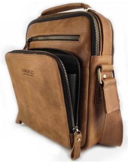 Мужская кожаная деловая сумка с ручкой для руки CS3060