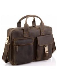 Мужская винтажная сумка для ноутбука Tiding Bag D4-058R