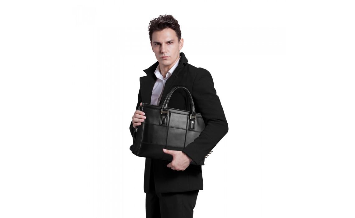 Классическая мужская сумка. Выбираем модный образ