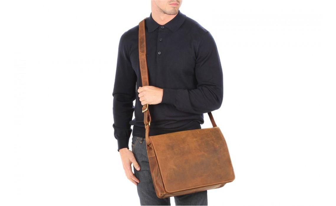 Деловая мужская сумка. Незаменимый аксессуар