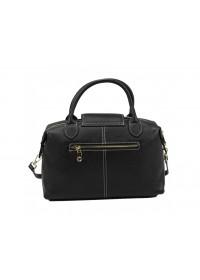 Женская черная сумка кожаная Riche F-A25F-FL-559WA